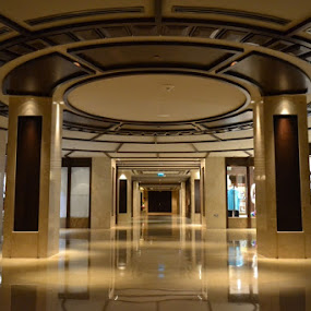 the hall at Al Bustan Palace Hotel (Ritz CArlton) - Muscat by Irma Andriani - Buildings & Architecture Office Buildings & Hotels