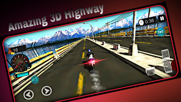 Highway Bike Stunts 3D- screenshot