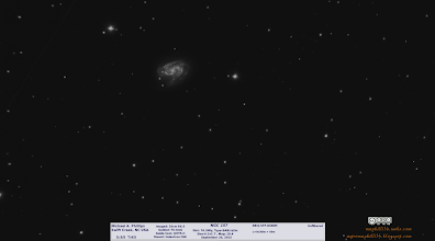 Photo: I have to admit I'm quite surprised how well this tiny galaxy, NGC157 came out at 9x5m=45m