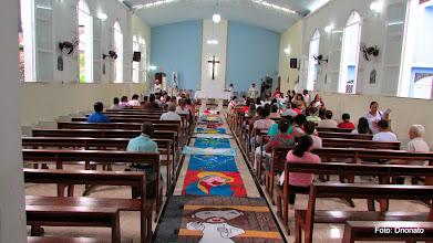 Photo: Tapete de Corpus Christi  2014  - Paróquia N. sra. de Lourdes