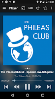 Screenshot of Podcast & Radio Addict