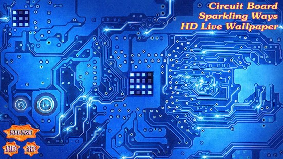 Circuit Board of Digital Sparkling Ways- screenshot thumbnail