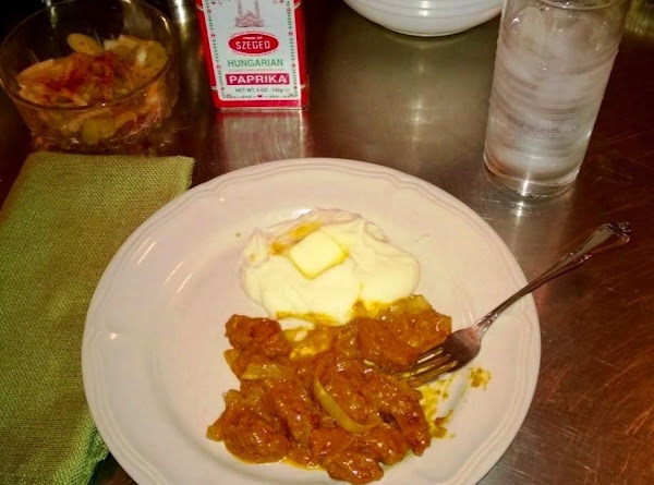 Hungarian Liver And Onions With Vinegar Gravy Recipe