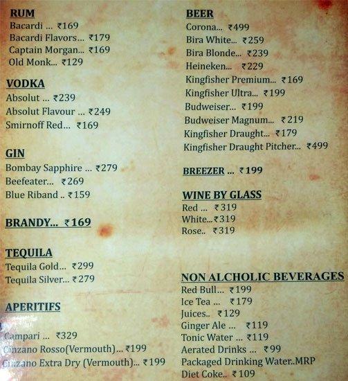 Icon Club menu 4