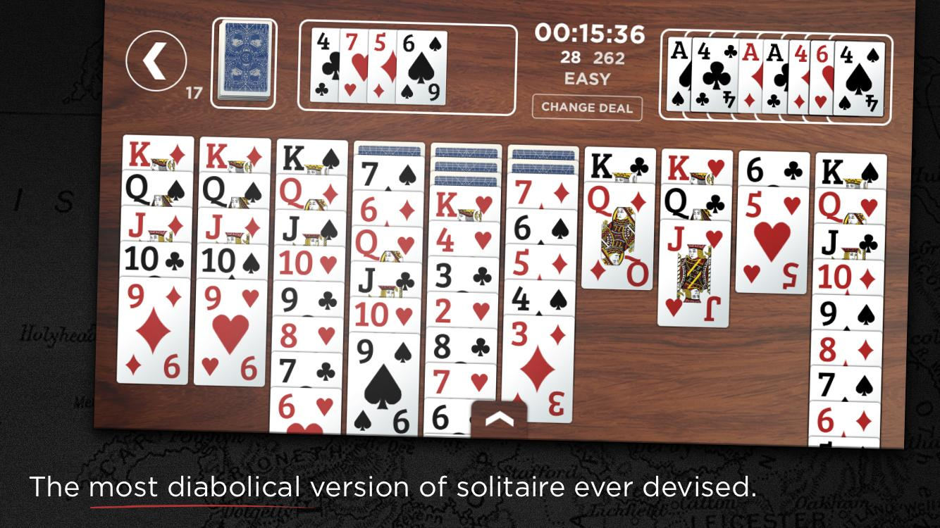 Churchill Solitaire Card Game- screenshot