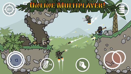 Mini Militia - Doodle Army 2 - screenshot