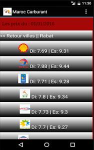 Maroc Carburant: prix & tarifs screenshot 1