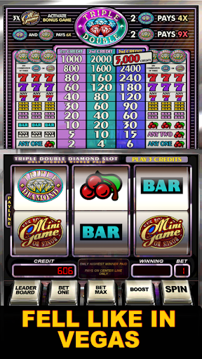 Triple Double Diamond Slots