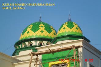 Photo: Kubah Masjid Ibadurrahman Komplek Hypermart Assalam Solo Jawa Tengah