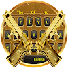 Gold gun military war keyboard theme