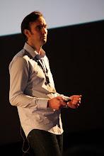 """Photo: TTedxAlsace - Jean-Christophe UHL - Dirigeant de Uhl-Bonaventure Informatique (UBI) - """"Le futur du travail : télétravail et travail collaboratif"""""""