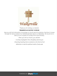 Walkerville Baptist-Blackshear- screenshot thumbnail