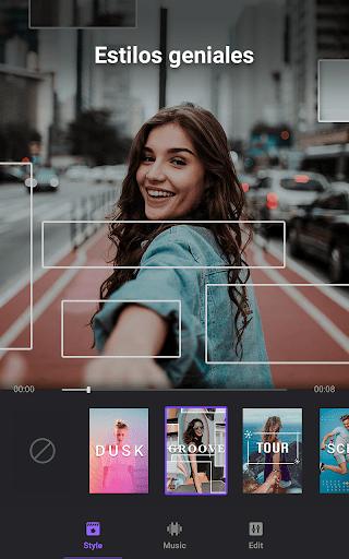 Creador de vídeo editor de vídeo con fotos ymúsica screenshot 2