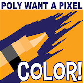 PolyWanna Paint: Coloring Book
