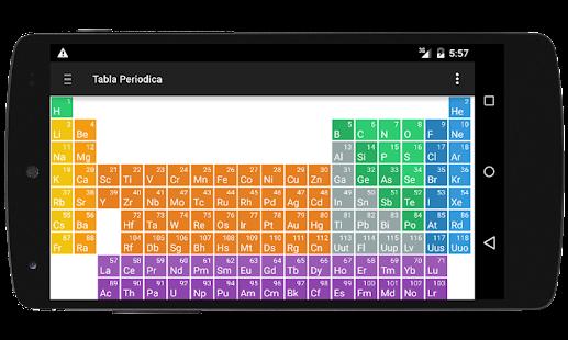 Tabla periodica y nomenclatura android apps on google play tabla periodica y nomenclatura screenshot thumbnail urtaz Gallery