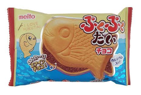 Puku Puku Tai Choco 16,5 g Meito