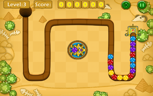 Jungle Marble Blast screenshot 16