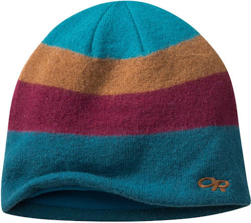 Outdoor Research Gradient Beanie: Peacock/Zin, One Size