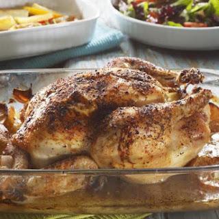 Baked Rotisserie-Style Chicken