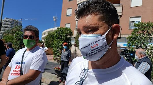 """""""Nosotros divertimos, no contagiamos"""": los feriantes se movilizan en la capital"""