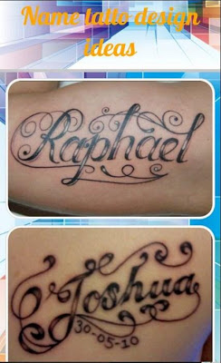 Name Tatto Design Ideas - screenshot