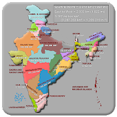 Indian State Capital & Map - City & Population Map
