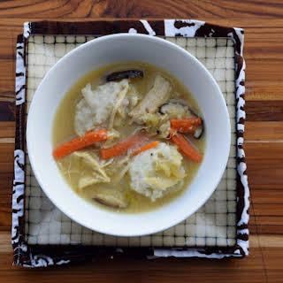 Chicken Soup with Polish Dumplings.
