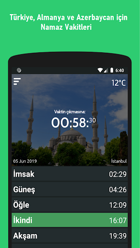 Prayer Times screenshot 1