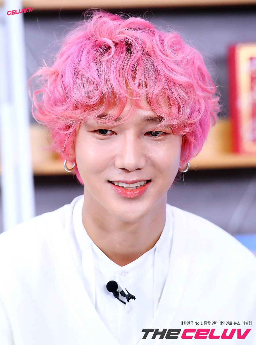 pink curly 34