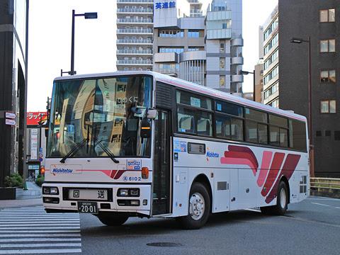 西日本鉄道「ひのくに号」 6102