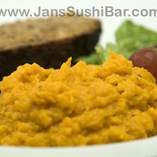 Maple Mashed Sweet Potato