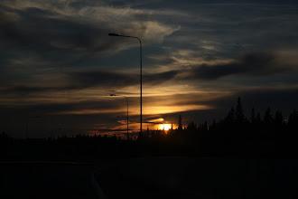Photo: По дороге в Новрегию нас застал закат в сочетании с широтой за полярным кругом и белой ночью.