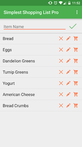 Simplest Shopping List Pro