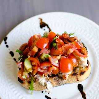 Chicken Bruschetta Cheese Toast