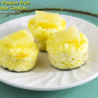 Pineapple Passion Fruit Cheesecake Cookies