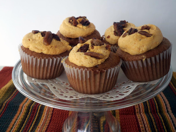Pumpkin Spice Filled Cupcakes Recipe
