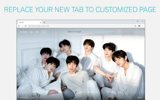 Kpop Music Idols Wallpaper HD GOT7 EXO NewTab