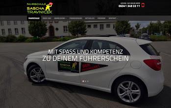 Photo: Referenz Webdesign: Fahrschule Sascha Travnicek (HTML5/CSS3, responsive Design, WordPress)