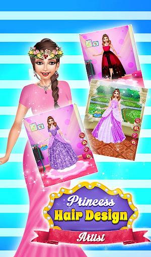 Princess Hair Saloon Design apkdomains screenshots 1
