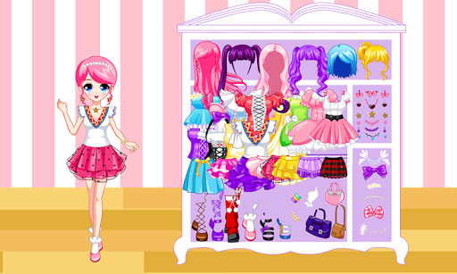 Dress Up Manga Wardrobe  4