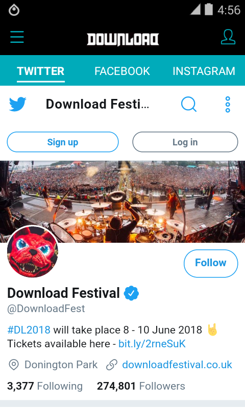 Download Festival 2018- screenshot