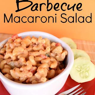 Barbecue Macaroni Salad.