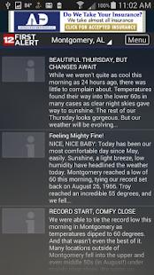 WSFA First Alert Weather- screenshot thumbnail