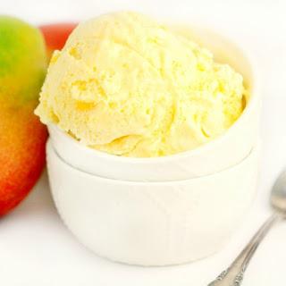 No-Churn Mango Ice Cream.