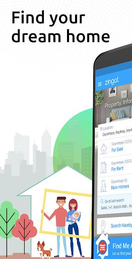 Zingat: Property Search Turkey - Sale & Rent Homes v2.23.0 screenshots 1