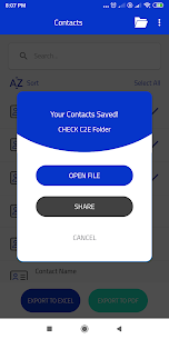 C2E – Contacts to Excel and PDF 3