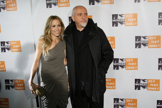 Photo: NEW YORK, NY - DECEMBER 02:  Musicians Sheryl Crow (L) and Peter Gabriel attend the 6th Annual Focus For Change: Benefit Dinner And Concert at Roseland Ballroom on December 2, 2010 in New York City.  (Photo by Neilson Barnard/Getty Images)