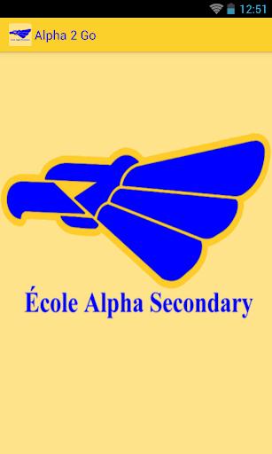 Alpha 2 Go - Alpha Secondary
