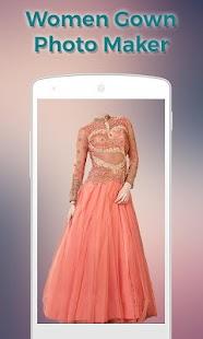 Women Gown Dress Photo Maker screenshot
