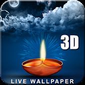 Lamp Live Wallpaper Bluesky 3D